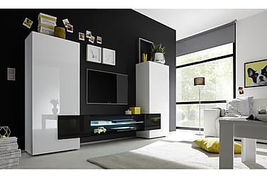 READING TV-möbel 258 Vit/Svart