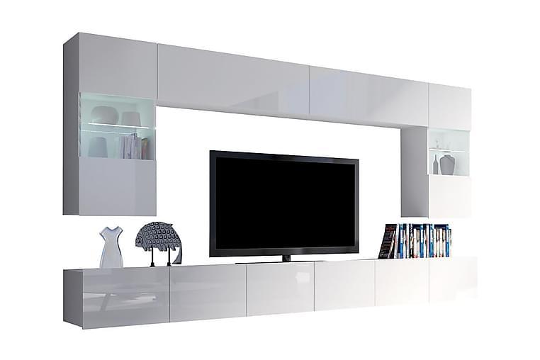 TRACEY TV-möbelset - Grå/Vit - Möbler & Inredning - Mediamöbler - Tv-möbelset
