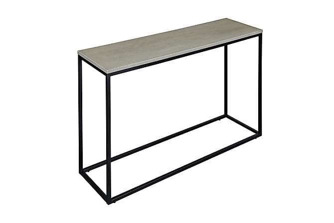 CARRIE Avlastningsbord Betong/Svart - Möbler & Inredning - Bord - Marmorbord
