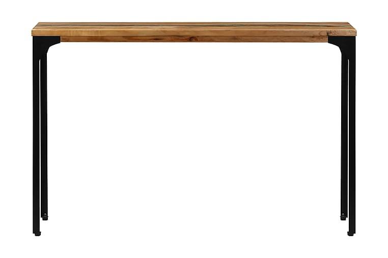 Konsolbord 120x35x76 cm massivt återvunnet trä - Brun - Möbler & Inredning - Bord - Avlastningsbord