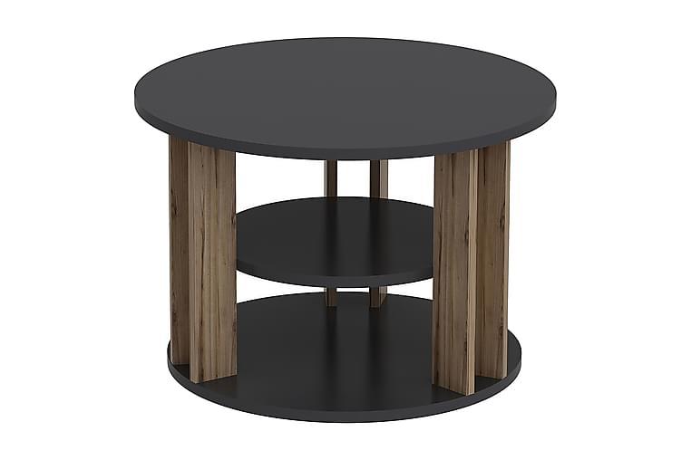 RILLA Avlastningsbord Brun/Svart - Homemania - Möbler & Inredning - Bord - Avlastningsbord