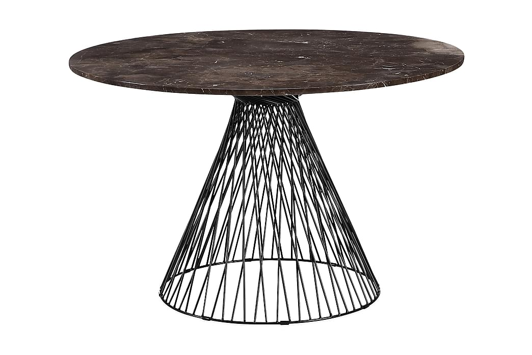 KYRA Matbord 120 cm Svart - Möbler & Inredning - Bord - Matbord