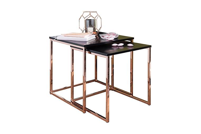 HALLSTEAD Satsbord 2-pack 48 cm Koppar|Svart - Möbler & Inredning - Bord - Satsbord