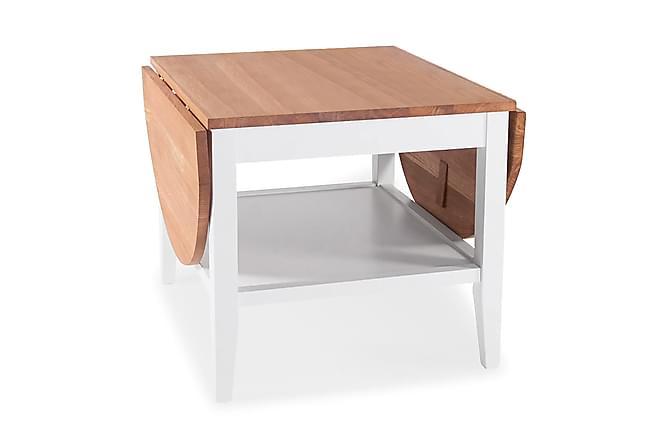 ÅBO Soffbord 60 Ek/Vit - Möbler & Inredning - Bord - Soffbord