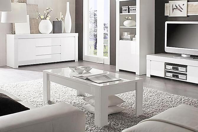 BAVENO Soffbord 122 Vit - Möbler & Inredning - Bord - Soffbord