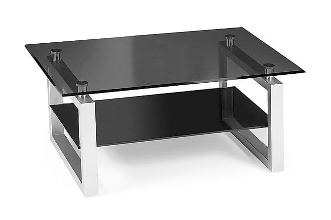 BODA Soffbord 110 Glas/Svart - Möbler & Inredning - Bord - Soffbord