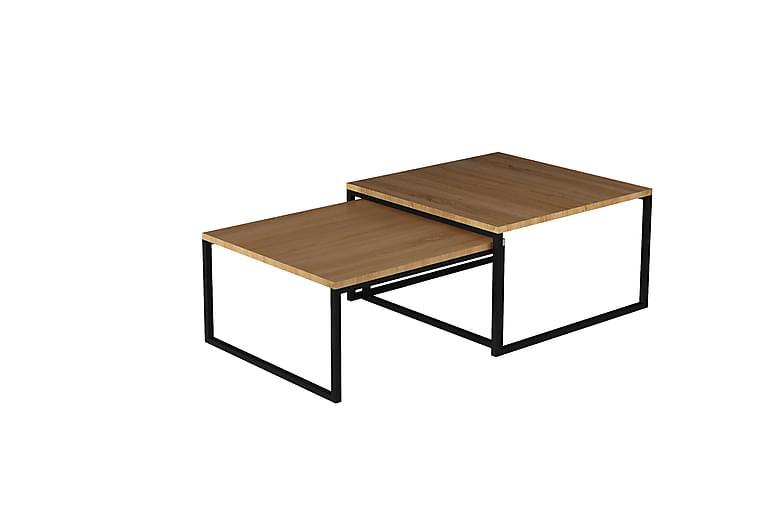 CHESTEK Satsbord 69 cm Brun - Möbler & Inredning - Bord - Soffbord