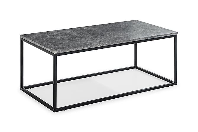 MITA Soffbord 120 Grå/Svart - Möbler & Inredning - Bord - Soffbord