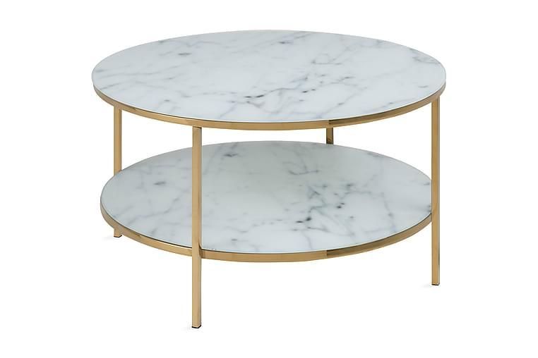QUENSIMO Soffbord Vit - Möbler & Inredning - Bord - Soffbord