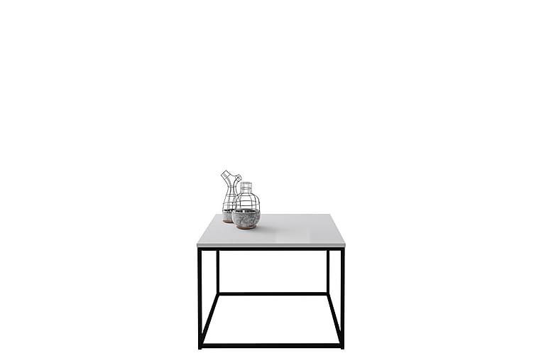 SAPIENZA Soffbord 60 cm Svart/Vit Högglans - Möbler & Inredning - Bord - Soffbord