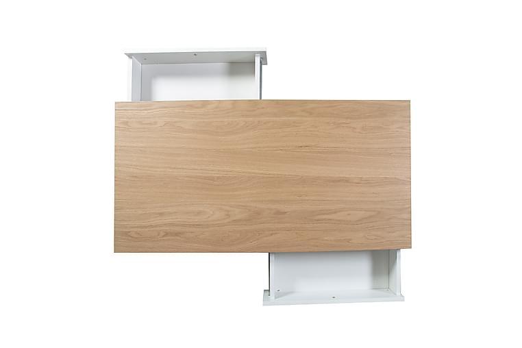 Soffbord Helena Vit Med 2-Lådor 120x60xh40 cm Mdf - Möbler & Inredning - Bord - Soffbord