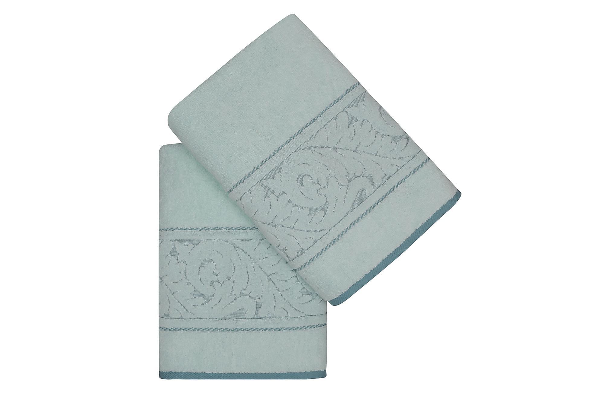 HOBBY Badhandduk 70×140 2-pack Mint