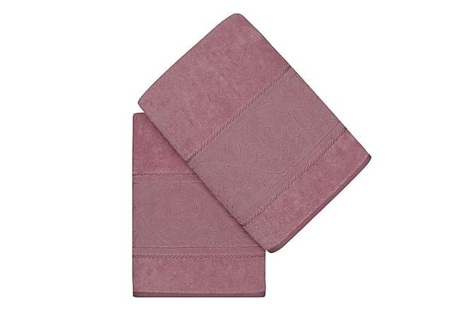 HOBBY Badhandduk 70x140 2-pack Rosa - Inomhus - Inredning - Badrumstextilier