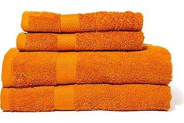 QUEEN ANNE Frotté Badlakan 150x90 Orange
