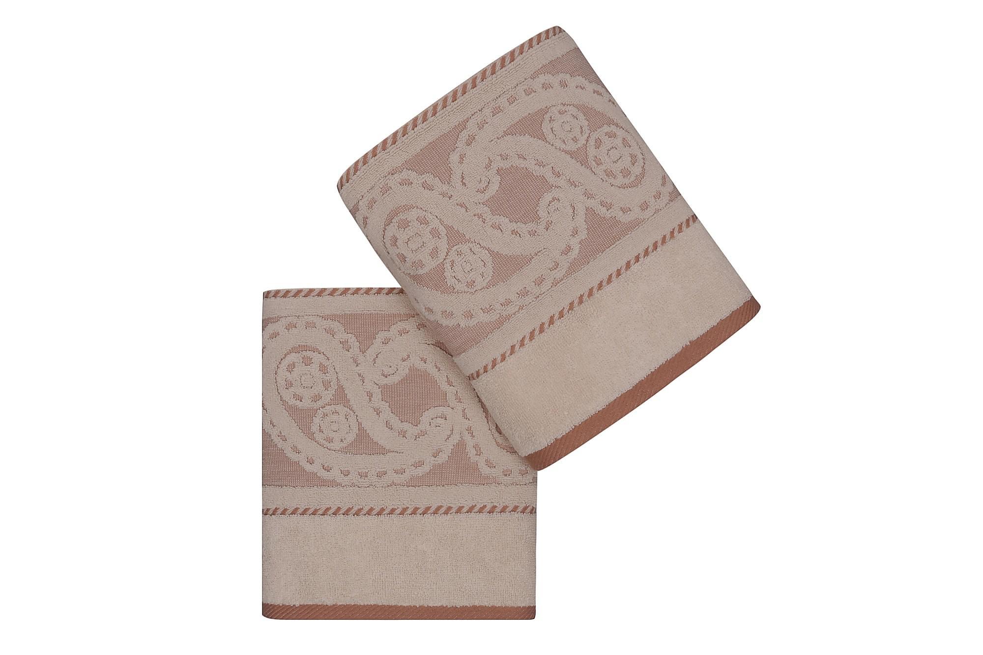 HOBBY Handduk 50×90 2-pack Creme