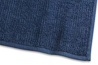 Stripe Frotté 30x50 cm Marinblå Borganäs