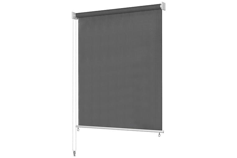 Rullgardin utomhus 140x230 cm antracit - Antracit - Möbler & Inredning - Inredning - Gardiner & gardinupphängning