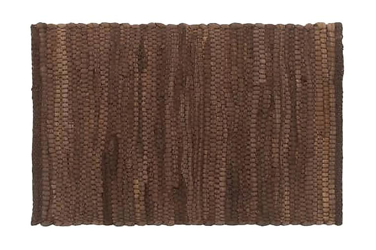Bordstabletter 4 st chindi brun 30x45 cm bomull - Brun - Möbler & Inredning - Inredning - Kökstextilier