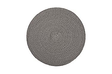 SALIX Tablett Rund 38 Ljusgrå