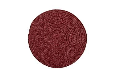 SALIX Tablett Rund 38 Röd