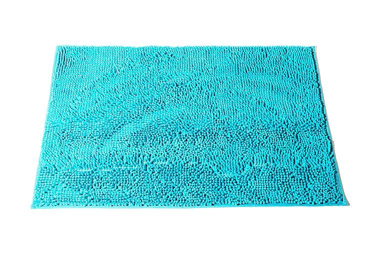 ANYA NELSON Badrumsmatta 90x60 Turkos - Möbler & Inredning - Mattor - Badrumsmattor