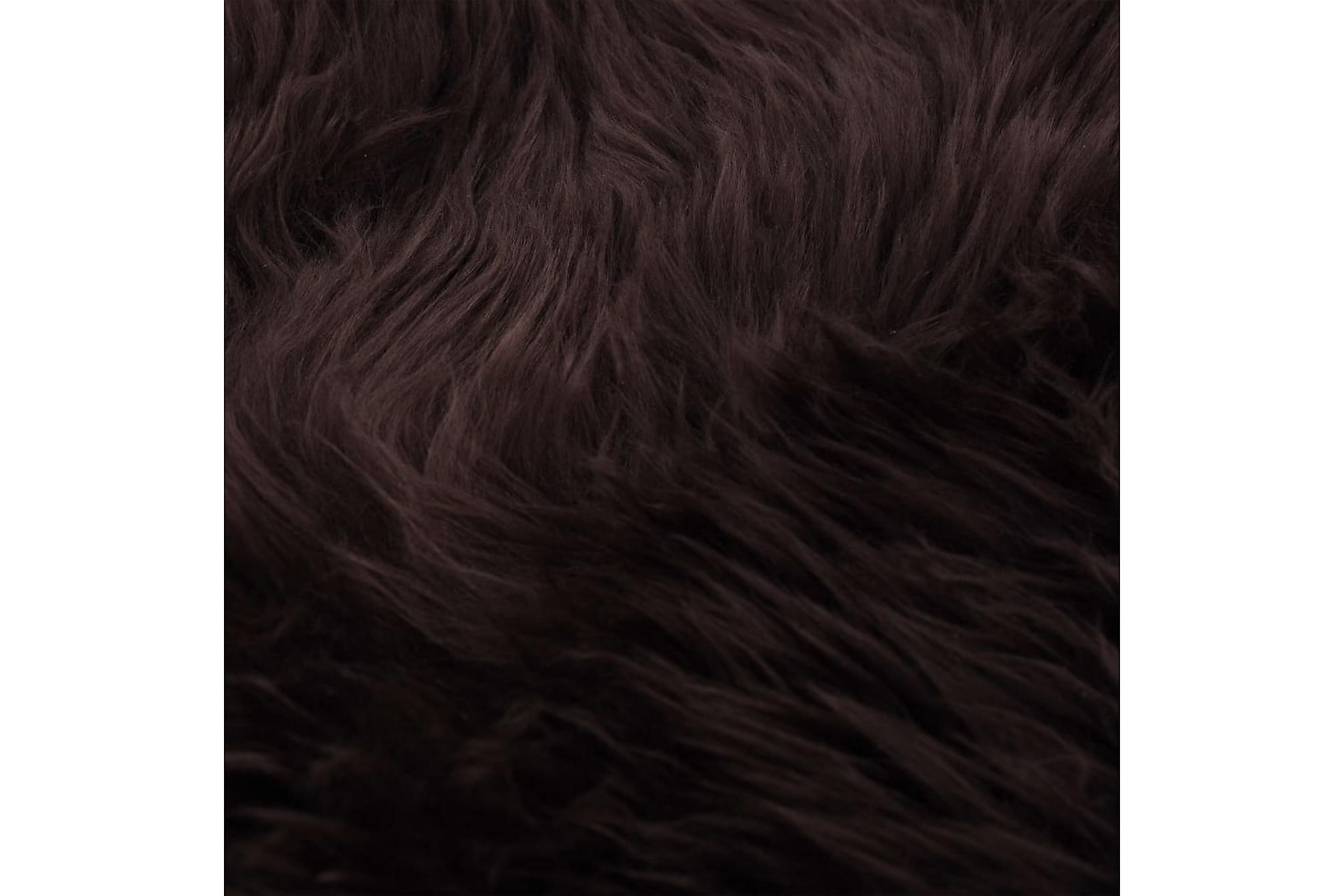 Fårfäll 60×90 cm brun