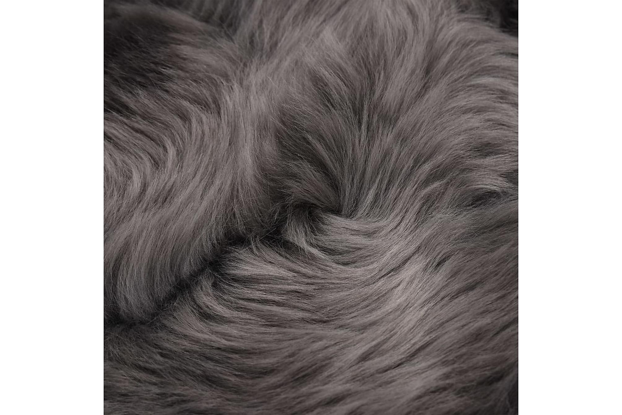 Fårfäll 60×90 cm ljusgrå