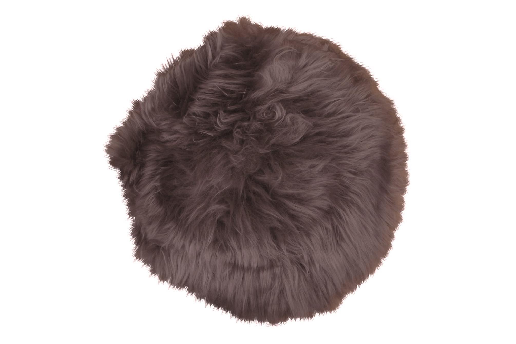 FARGGOLI Lammskinn 35 cm Brun, Filtar & plädar