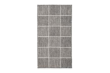 ARAVACA Square Flatvävd Matta 80x150 Grå/Vit