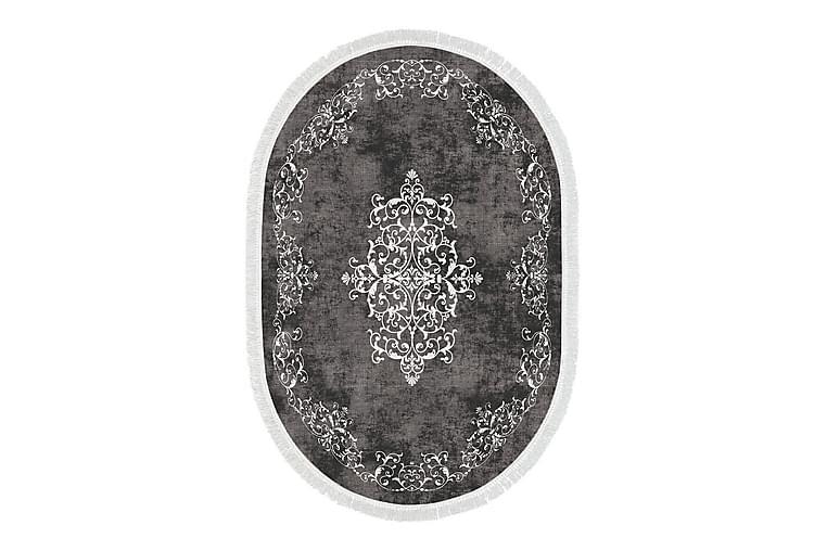 ALANUR HOME Matta 160x230 cm Grå/Vit - Möbler & Inredning - Mattor - Wiltonmattor