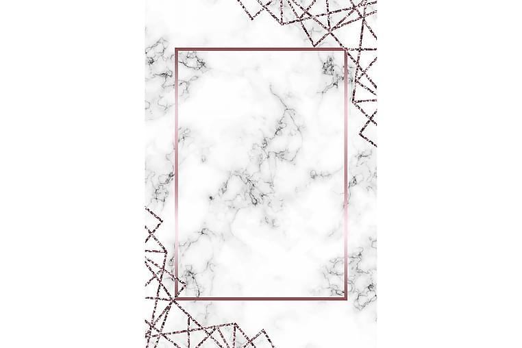 HOMEFESTO Matta 100x200 cm Multifärgad - Textilier & mattor - Mattor - Modern matta - Friezemattor