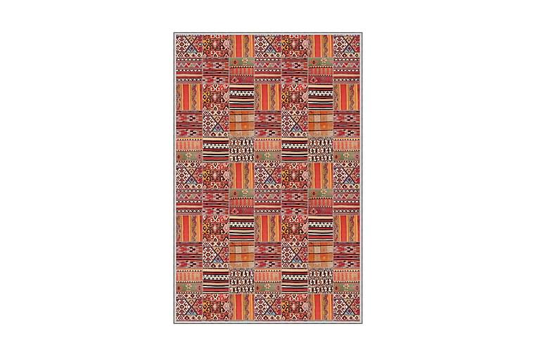HOMEFESTO Matta 80x150 cm Multifärgad - Möbler & Inredning - Mattor - Wiltonmattor