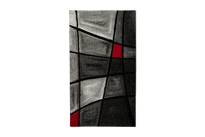 TRELEW Brilliance Friezematta 80x150 Röd - Möbler & Inredning - Mattor - Stora mattor