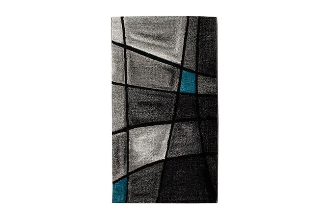 TRELEW Brilliance Friezematta 80x250 Turkos - Möbler & Inredning - Mattor - Stora mattor