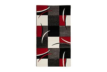 TRELEW Patch Friezematta 80x250 Rutig Röd