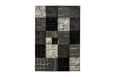 TRELEW Square Friezematta 200x290 Svart