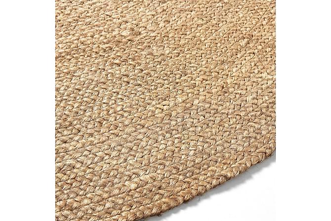 DAL Jutematta Rund 150x150 Natur - Inomhus - Mattor - Flatvävda mattor