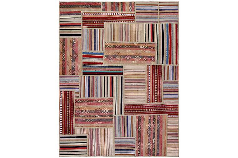 Handknuten Persisk Patchworkmatta 155x201 cm Flerfärgad - Möbler & Inredning - Mattor - Patchwork mattor