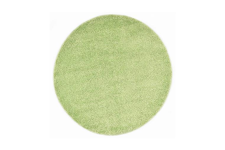 Shaggy-matta 67 cm grön - Grön - Textilier & mattor - Mattor - Modern matta - Ryamattor