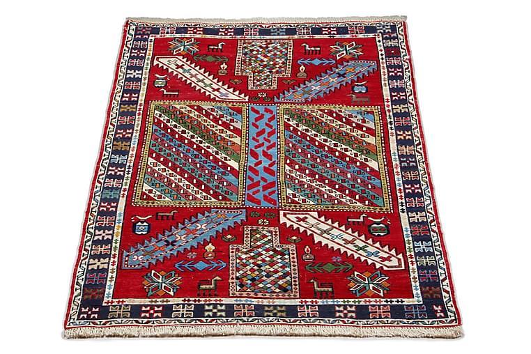 Handknuten Persisk Matta Varni 105x155 cm Kelim Röd/Mörkblå - Möbler & Inredning - Mattor - Kelimmattor