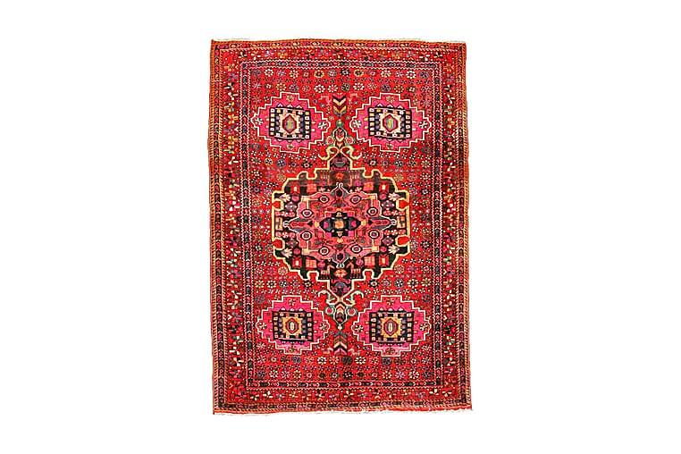 Handknuten Exklusiv Persisk Nålmatta 138x202 cm Kelim Röd - Möbler & Inredning - Mattor - Orientaliska mattor