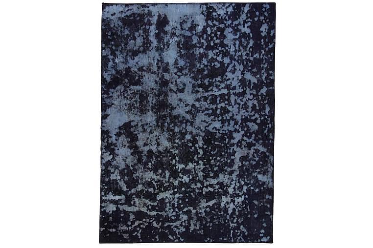 Handknuten Persisk Matta 116x163 cm Vintage  Blå/Mörkblå - Möbler & Inredning - Mattor - Orientaliska mattor