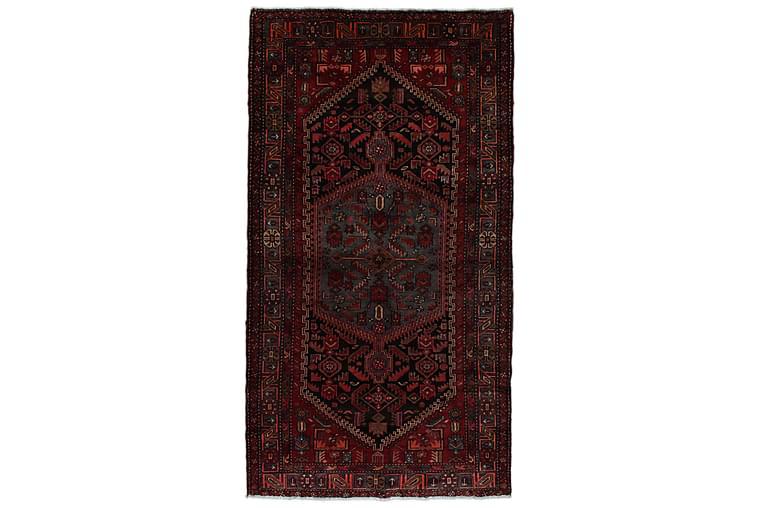 Handknuten Persisk Matta 151x278 cm Mörkblå/Röd - Möbler & Inredning - Mattor - Orientaliska mattor