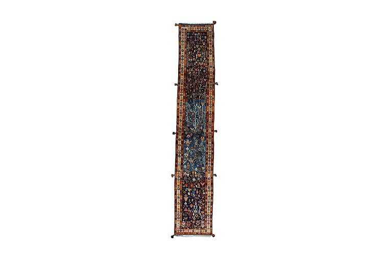 Handknuten Persisk Matta 54x322 cm Mörkblå/Brun - Möbler & Inredning - Mattor - Orientaliska mattor