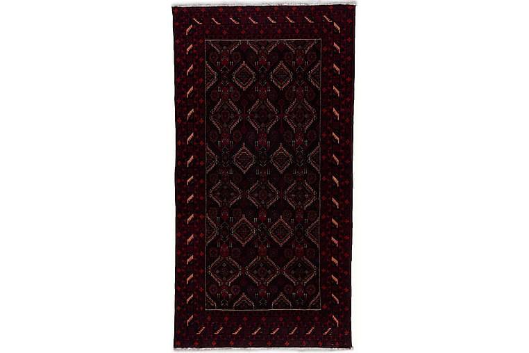 Handknuten Persisk Matta Våg 182x189 cm Kelim Svart/Röd - Möbler & Inredning - Mattor - Orientaliska mattor