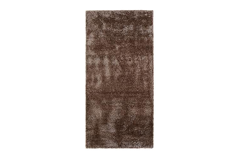 SUPER COZY Ryamatta 80x160 cm Konjaksbrun - Möbler & Inredning - Mattor - Ryamattor
