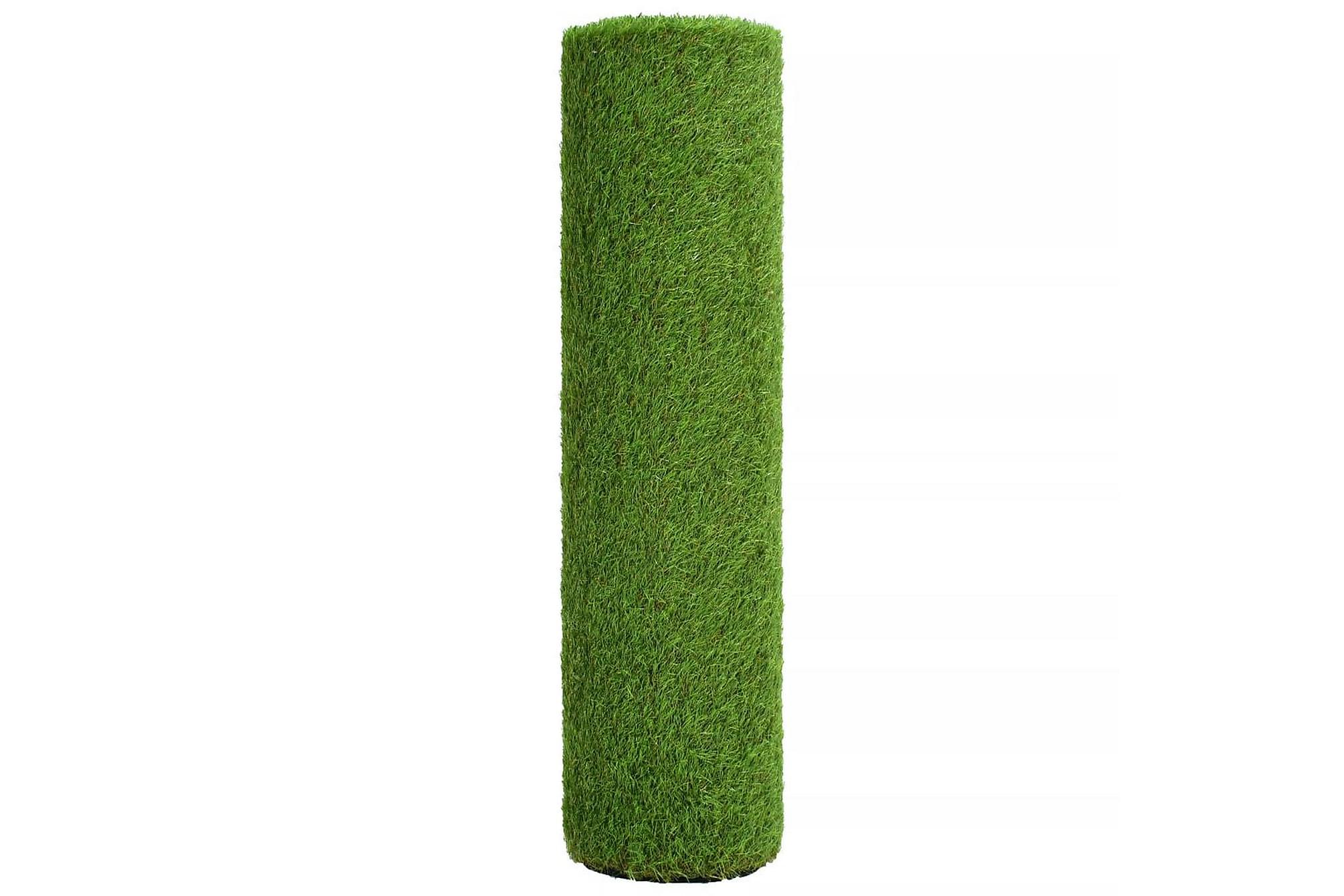 Konstgräsmatta 1×5 m/40 mm grön