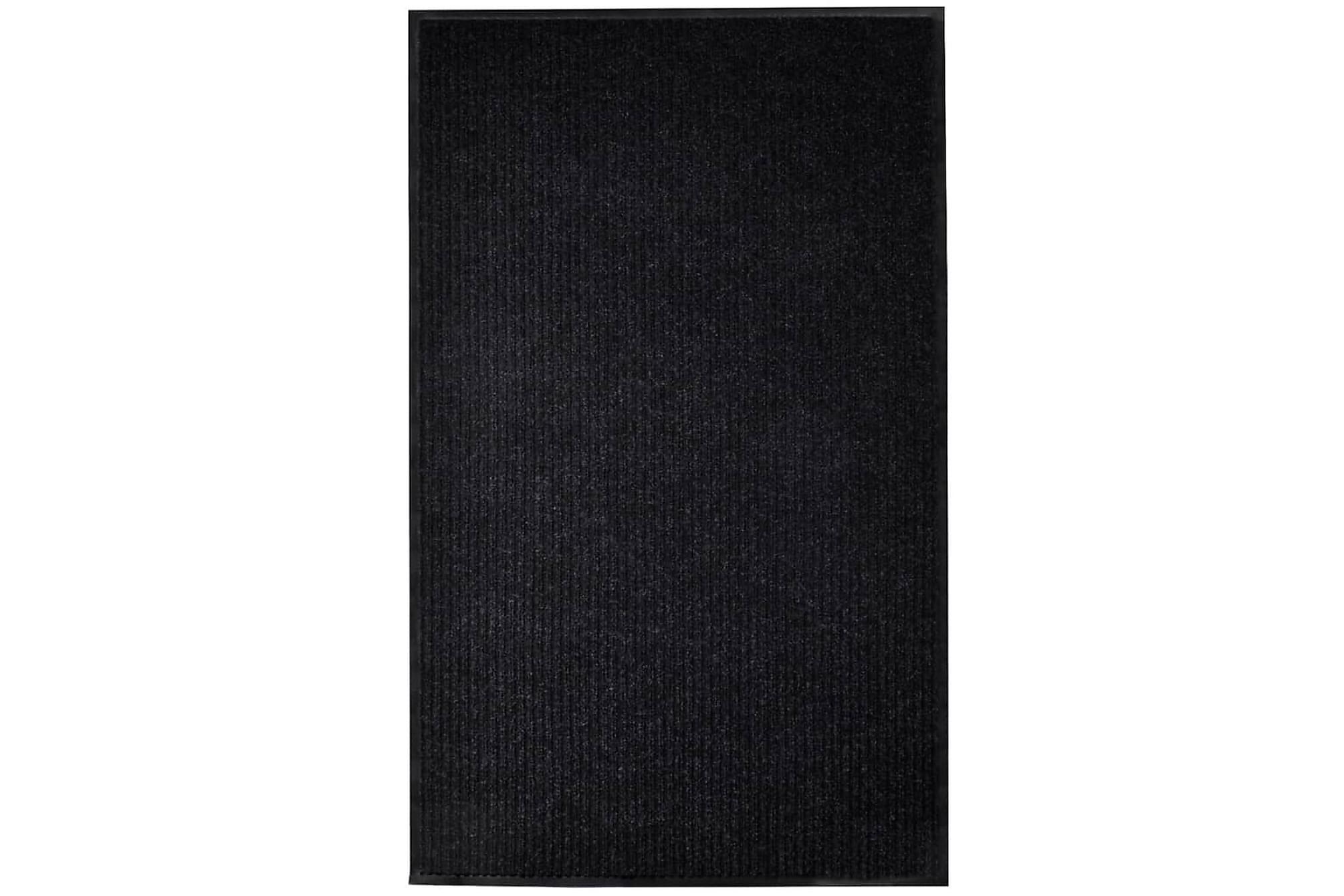 Dörrmatta svart 160x220 cm PVC, Dörrmattor & entrémattor