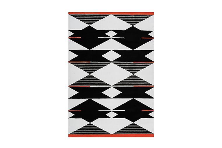 GATEPRE HINAR Matta 80x150 cm Svart/Vit/Röd - D-Sign - Möbler & Inredning - Mattor - Små mattor