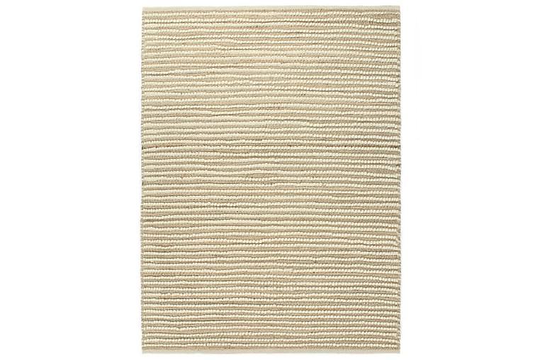 Hampamatta ull 80x150 cm naturlig/vit - Flerfärgad - Möbler & Inredning - Mattor - Små mattor